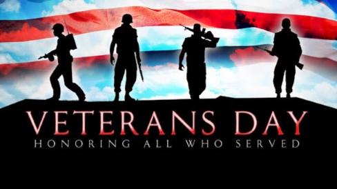 Veteran's Day – November 12