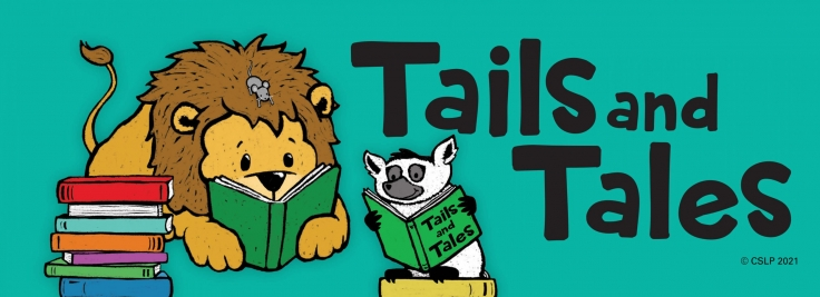 """""""Tails and Tales""""- 2021 Afton Summer Reading Program"""