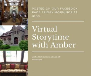 Online Storytime @ William B. Ogden Free Library- Facebook Page