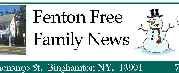2019 Winter FENTON FREE NEWSLETTER