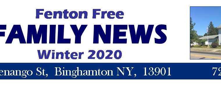 2020 FENTON FREE NEWSLETTER