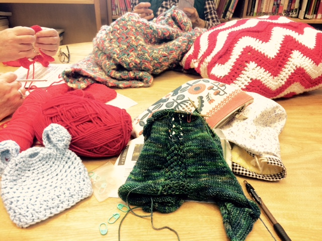Knitting and Crochet Group