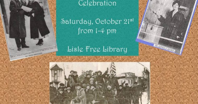 Suffragette Centennial Celebration