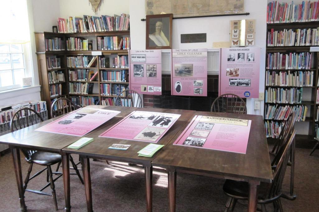 Ithaca College Students Save Women's Suffrage Celebration at the Lisle Free Library