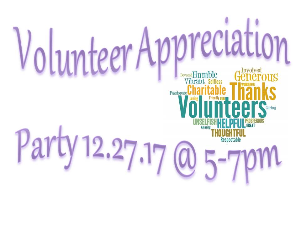Volunteer Appreciation Party