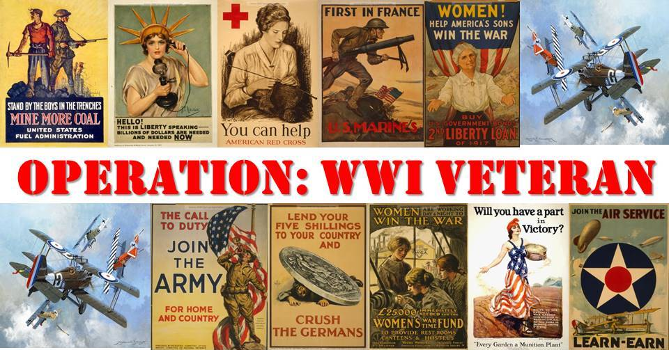 Operation: WWI Veterans