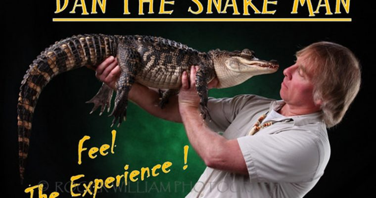 "Dan the Snake Man's ""Reptile Show"""