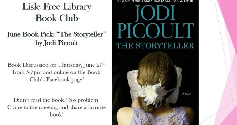 Book Club: June Book Pick