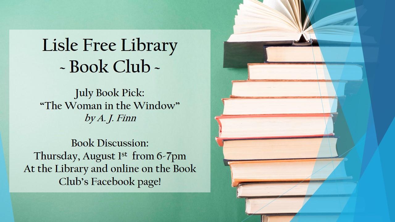 Book Club: July Book Pick