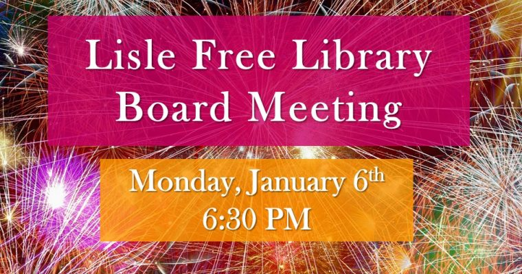 January Board of Trustee Meeting