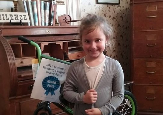 Summer Reading Program Winner