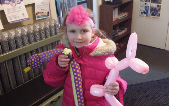 Easter Egg Hunt Fun at the Library 3-31-18