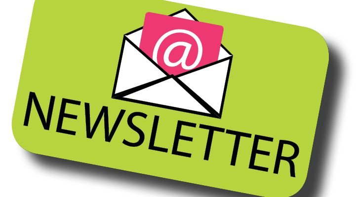 Subscribe to our monthly newsletter!