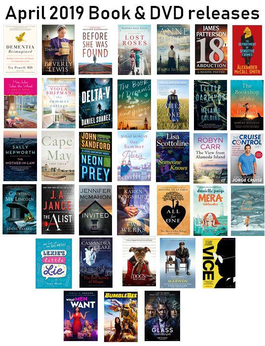 April 2019 new books