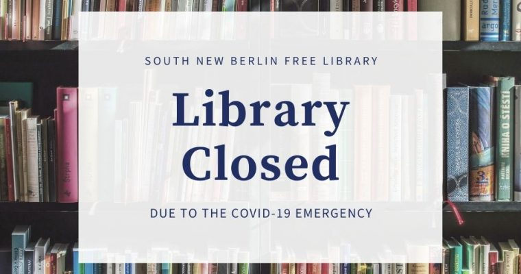 *Update* Library Closed