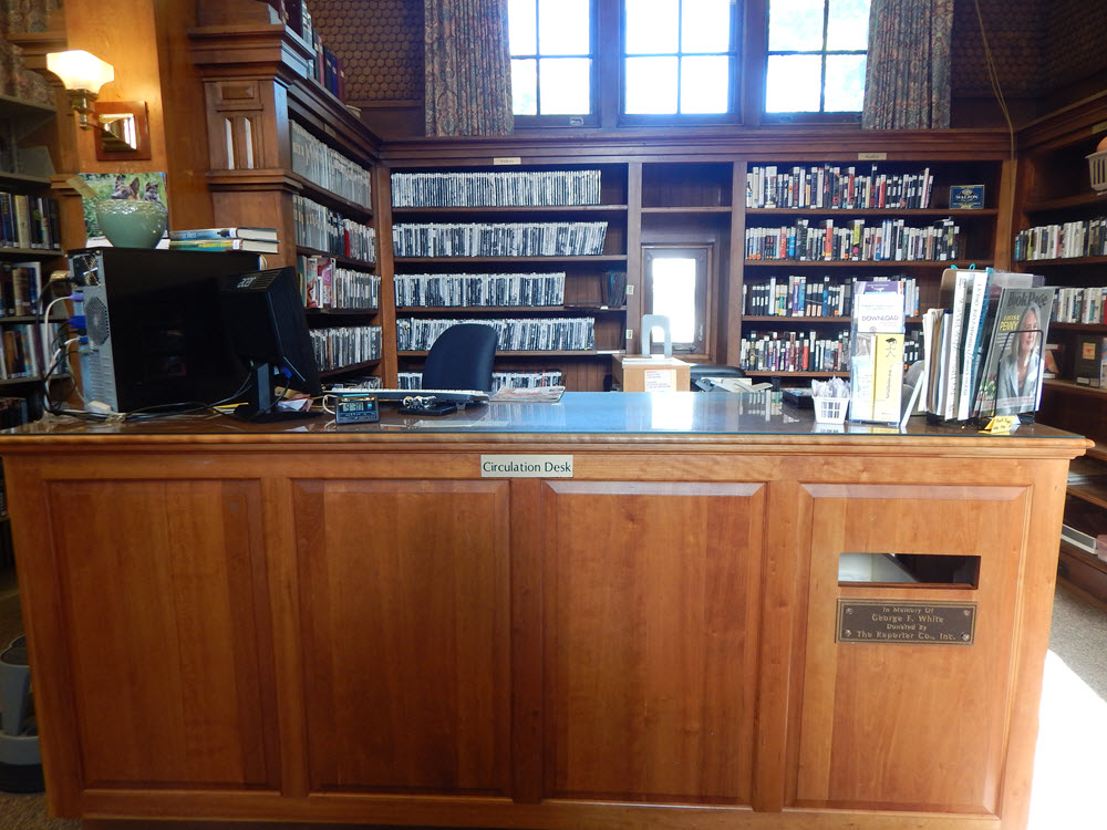 Circulation-desk