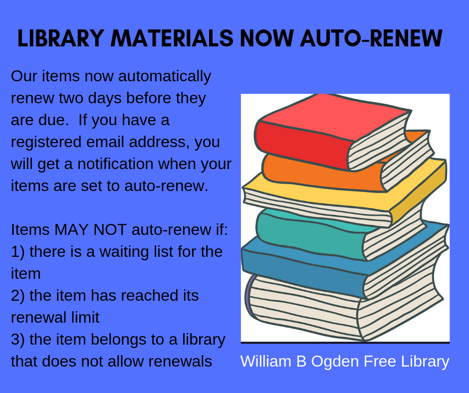 Now Offering Auto-Renewal