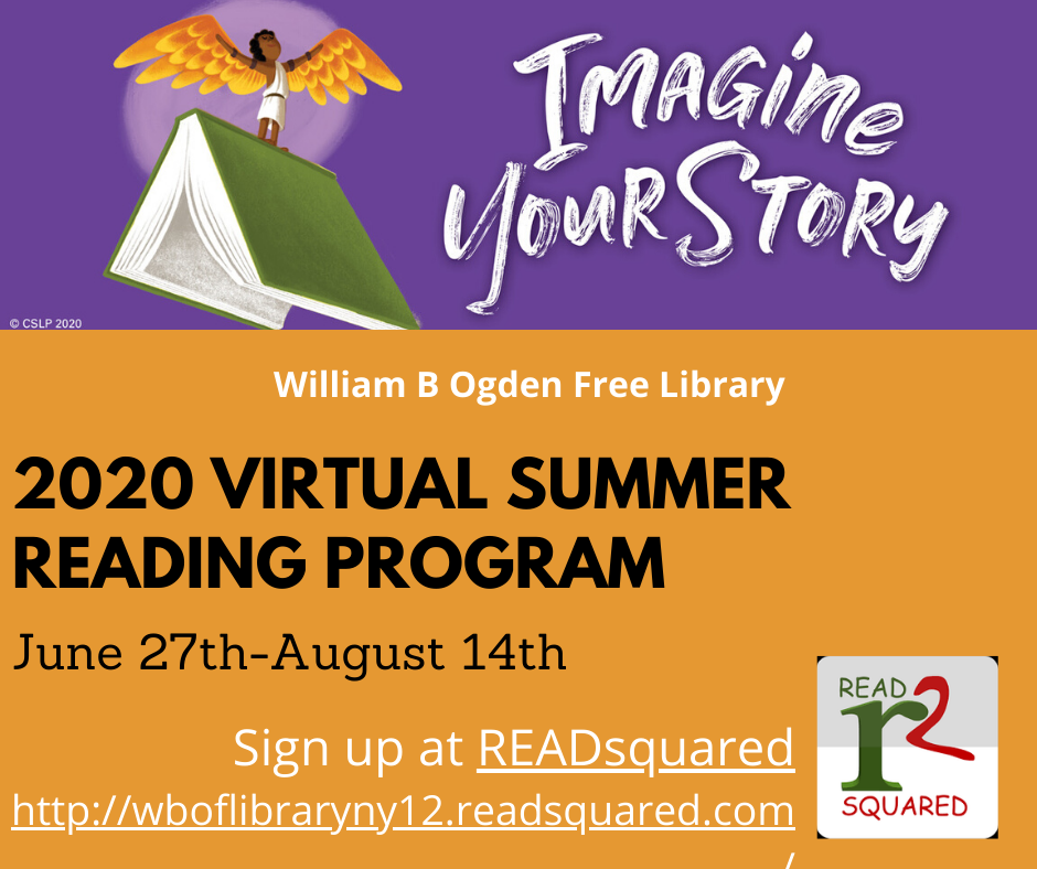 2020 Virtual Summer Reading Program – Imagine Your Story