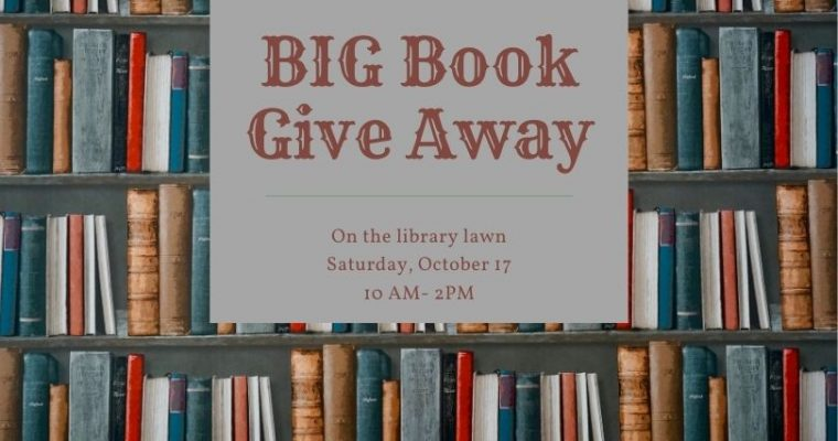 Big Book Giveaway