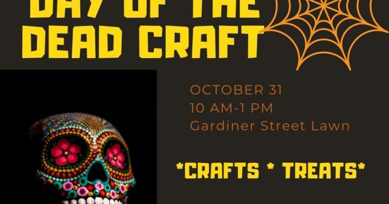 Outdoor Openhouse Event- Day of the Dead Craft