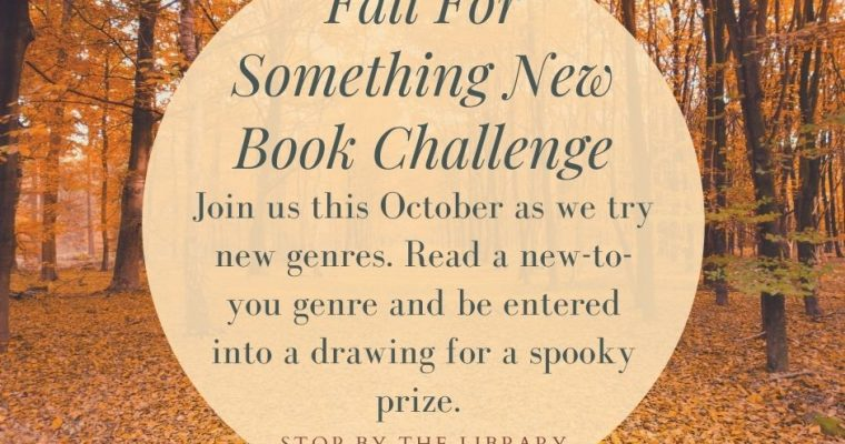 Fall for Something New Book Challenge