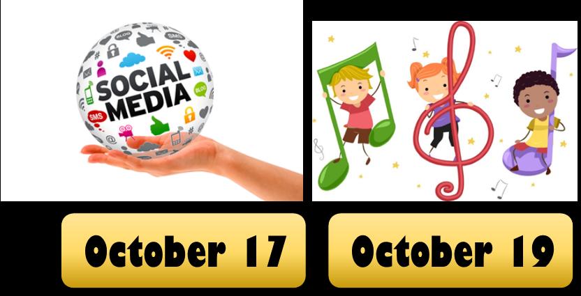 Social Media Workshop/ Children's Storytime this October
