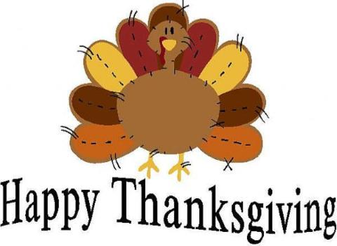 Thanksgiving Holiday- November 28 and 29