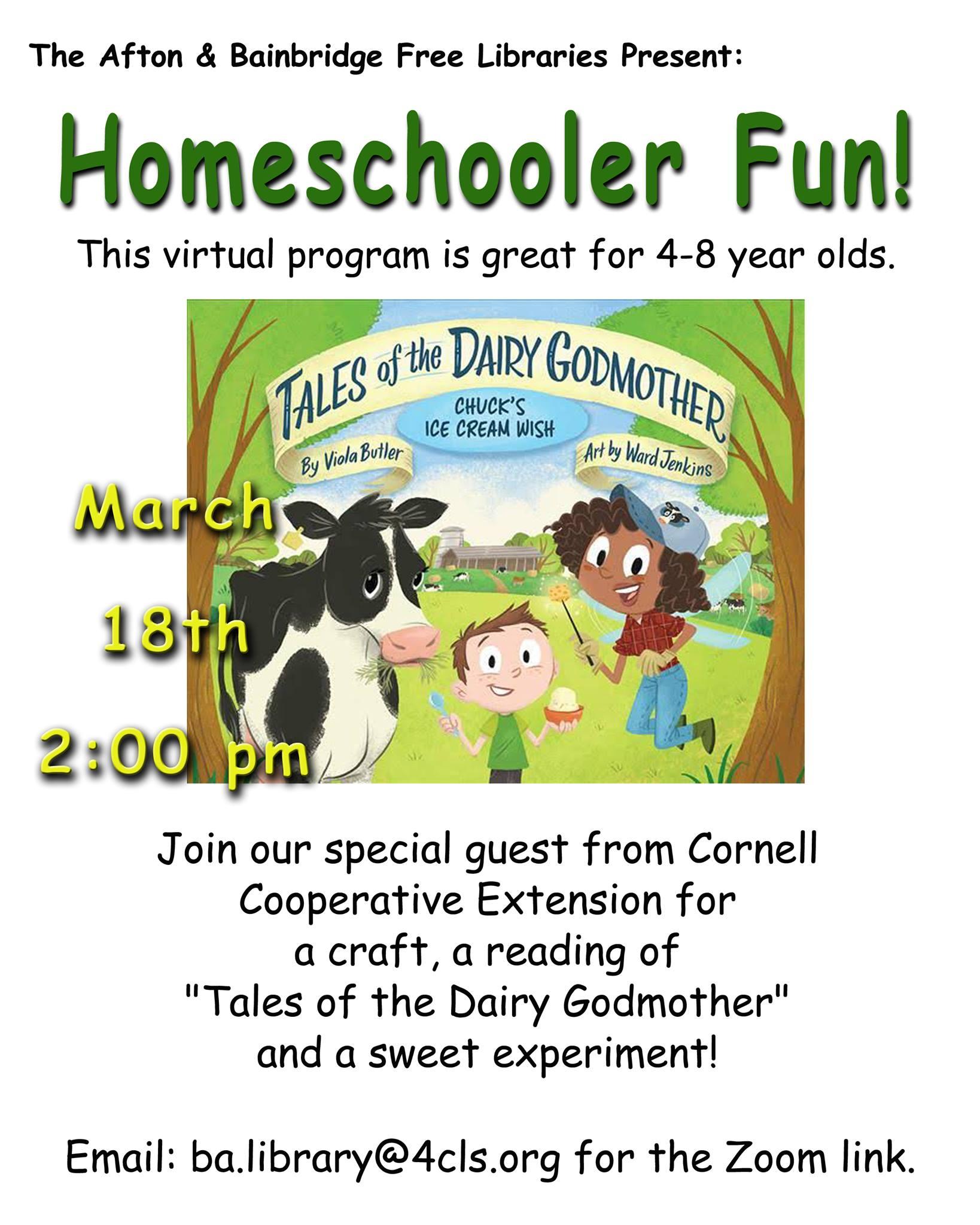 Homeschooler Fun! – March 18