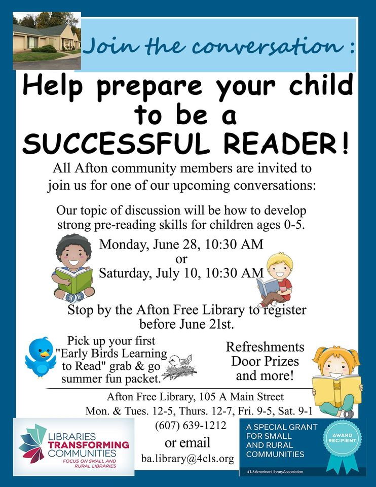 Help prepare your child to become a SUPER READER!
