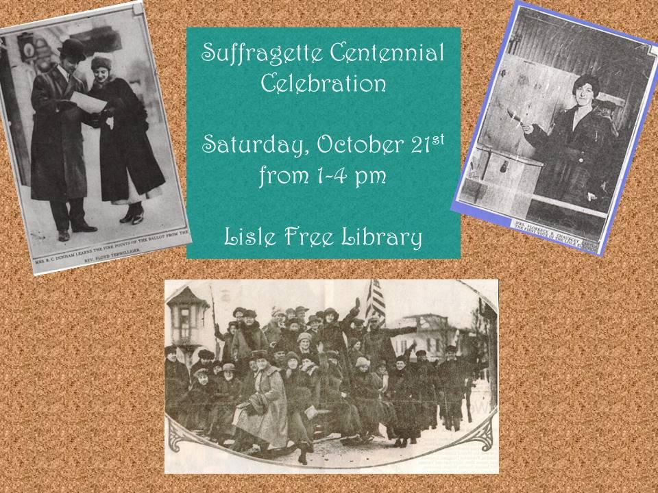 Suffragette Centennial Celebration