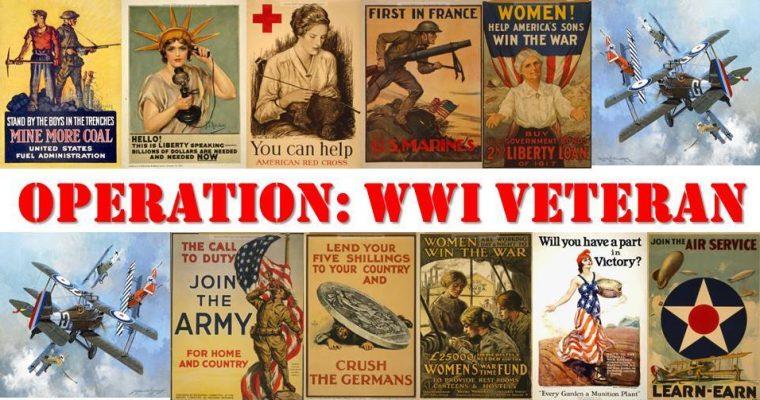 Operation: WWI Veterans