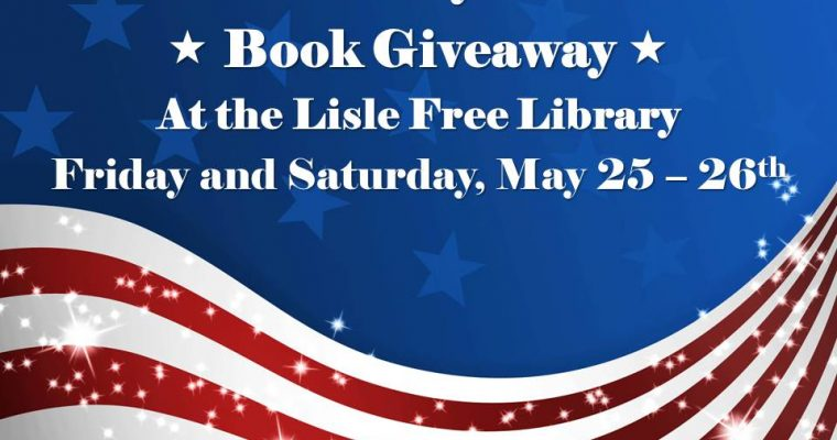 Memorial Day Weekend Book Giveaway