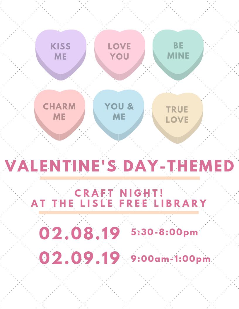 Valentine's Kiddo Craft Time