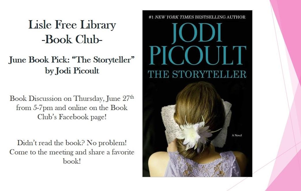 Book Club: June Book Pick