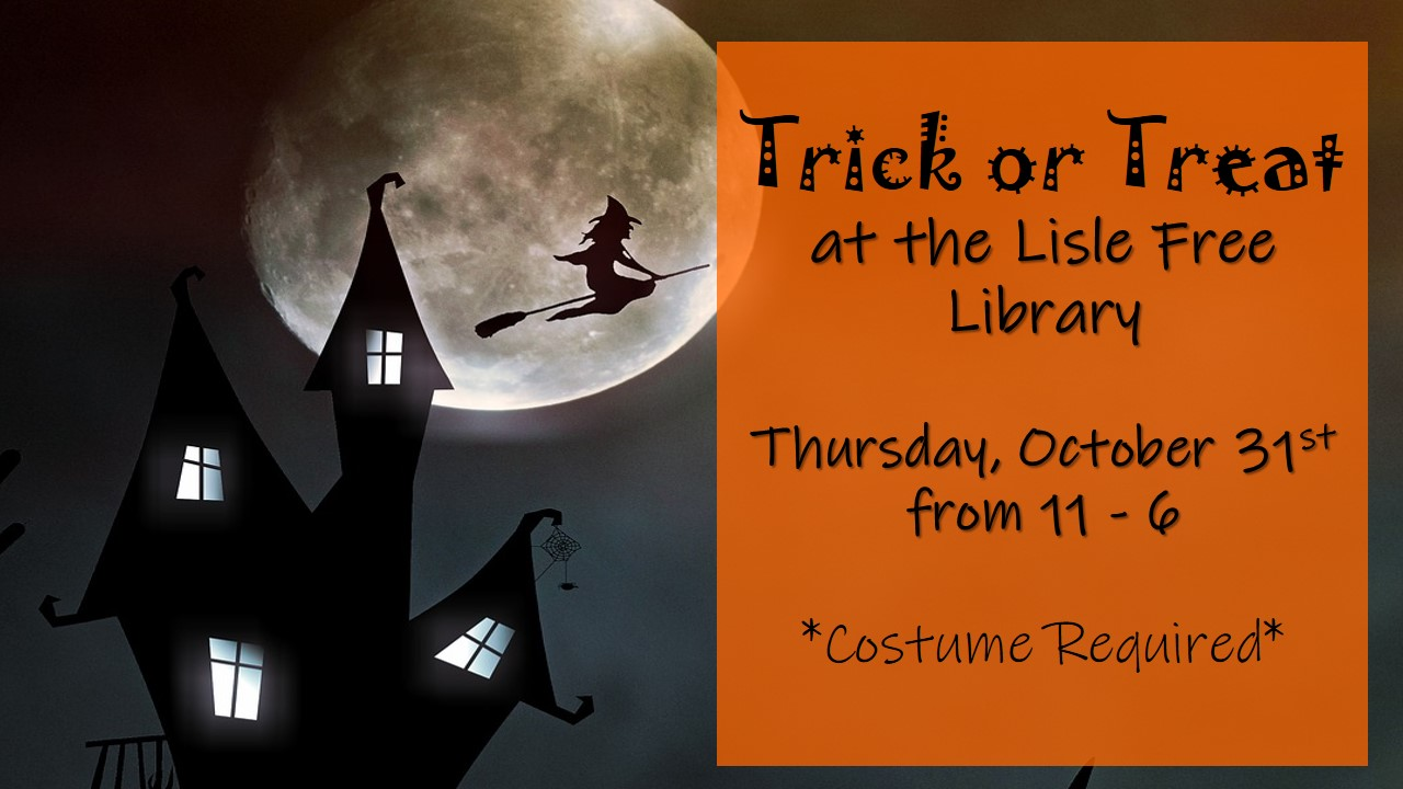 Trick or Treaters Welcome!