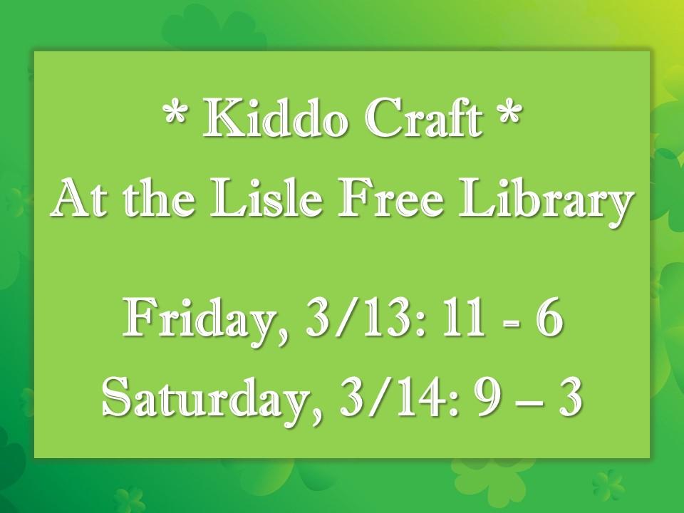 Kiddo Craft: St. Patrick's Themed!