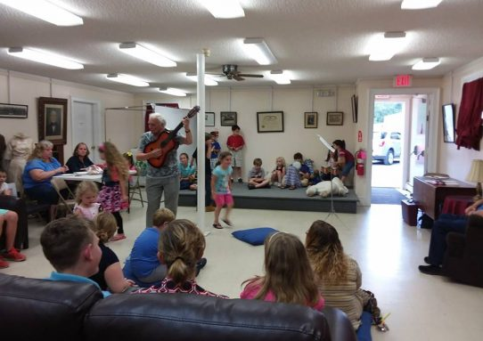 Perkins Memorial Performance Children's Concert with Joe Lombardi