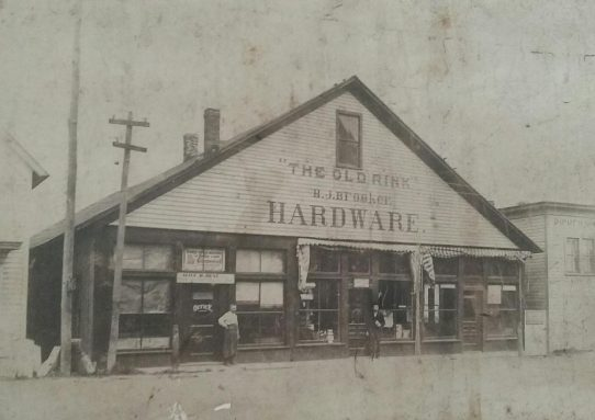 Bill Currie's Brooker Hardware Donation