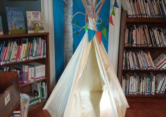 New Reading Nook In Children's Room