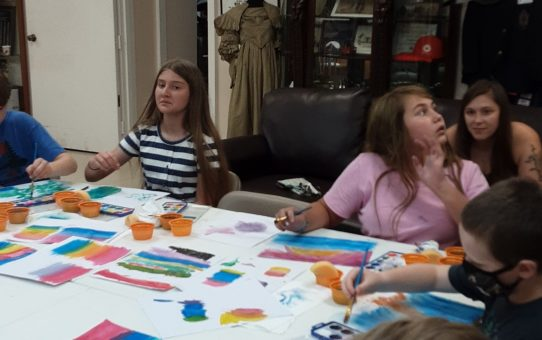 Ezra Keats Foundation Sponsored Art Classes