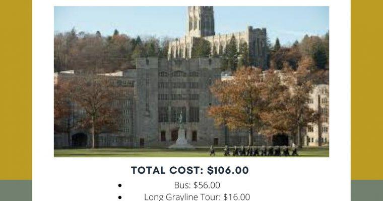 Read & Go- West Point Bus Trip