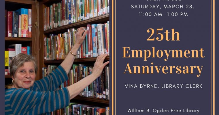 Vina's 25th Employment Anniversary Party