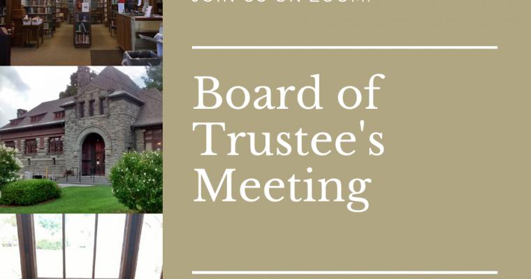 Board of Trustee's Meeting