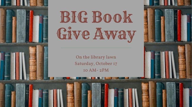 Big Book Giveaway