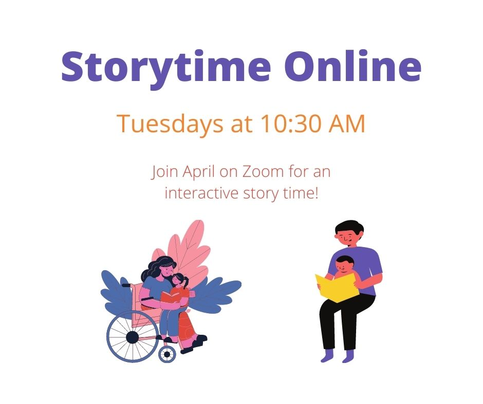 Storytime is Back!